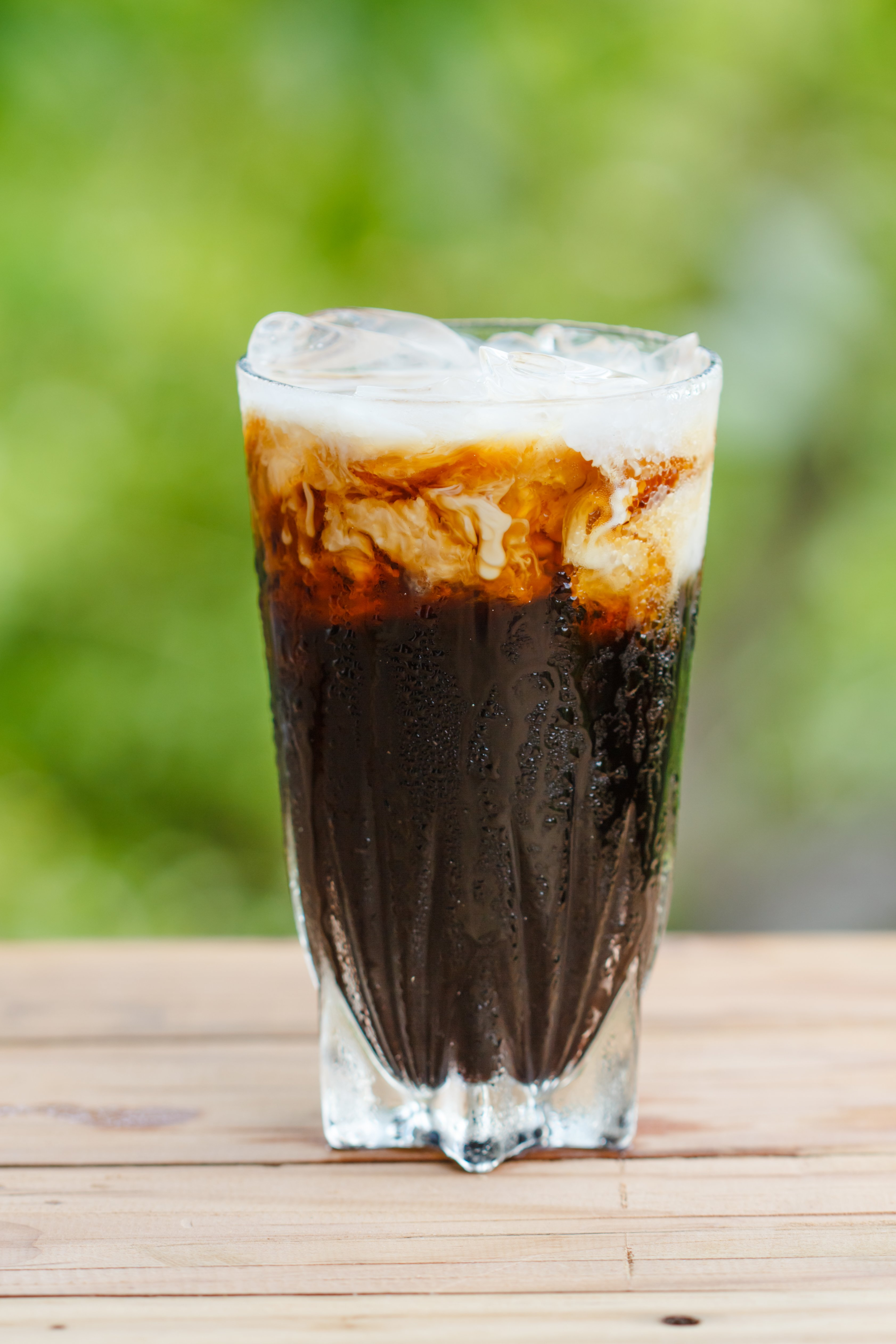 cold brewed coffee or cold water drip coffee