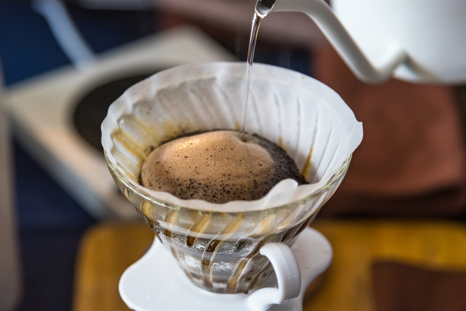 hack for pour-over coffee